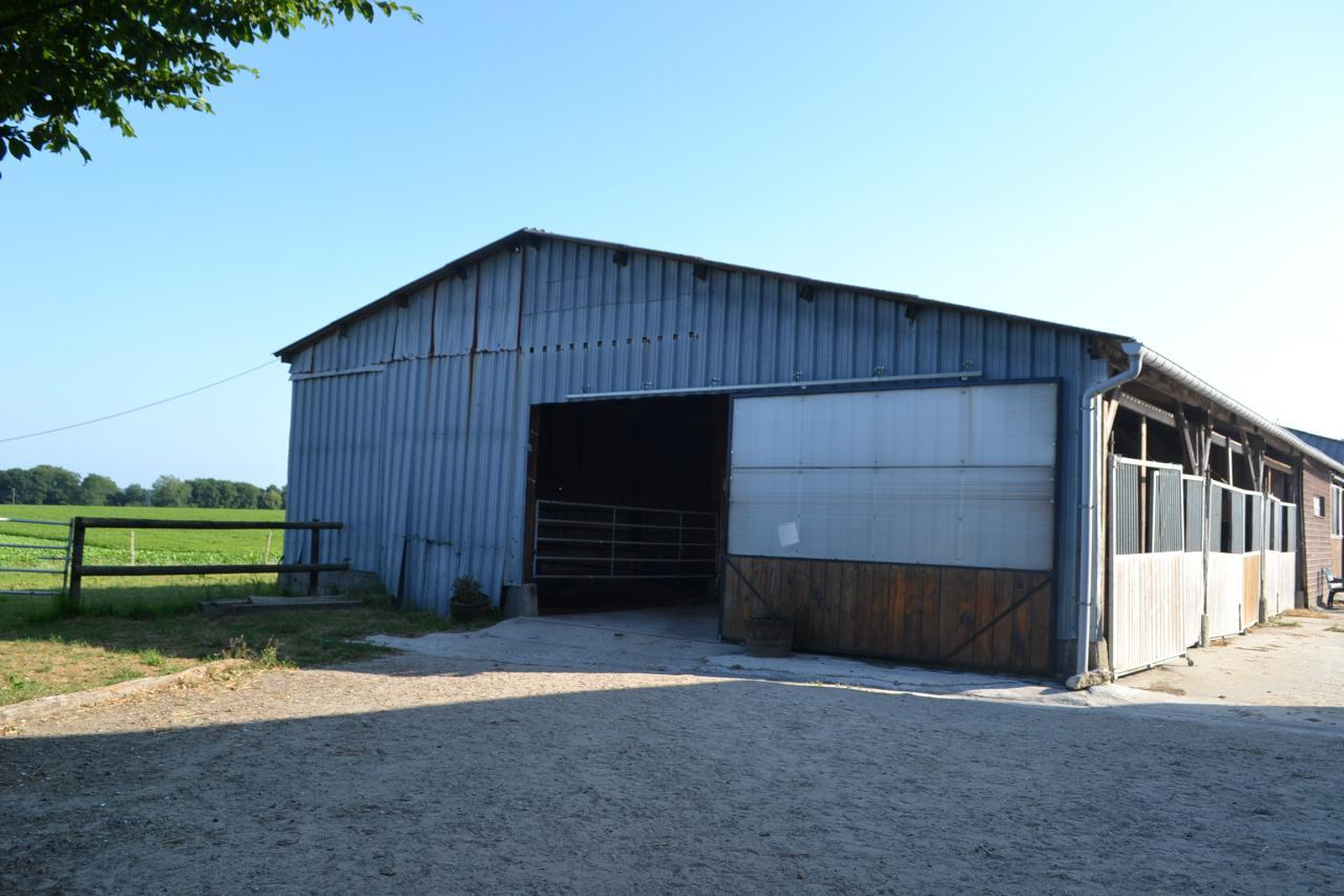 L'entrée du Barns