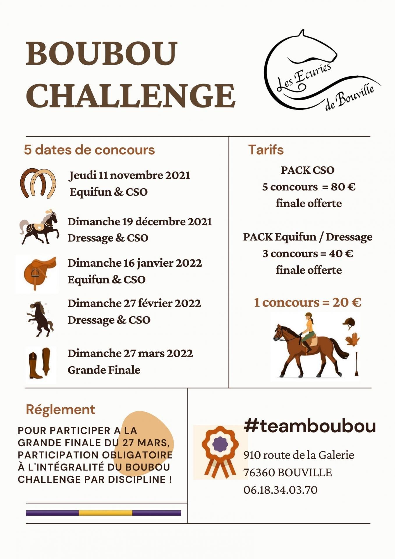 Boubou challenge